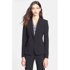 Theory Gabe B 2 stretch wool tailor blazer sz 4